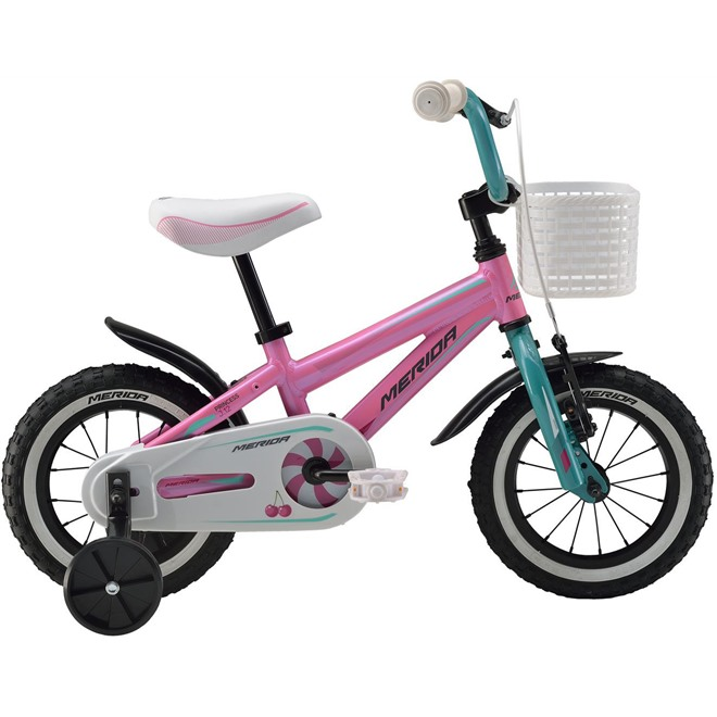 Велосипед Merida Princess J12 (2016) Pink/blue, интернет-магазин Sportcoast.ru