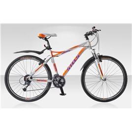 Велосипед Stels Miss 8700 (2014) Белый/Оранжевый/Фиолетовый , интернет-магазин Sportcoast.ru