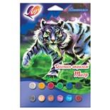 Набор для росписи картины Луч Тигр 28С 1672-08