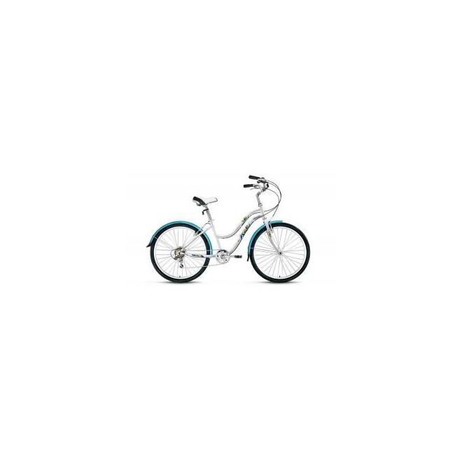 Велосипед Forward Evia 1.0 26 (2017) Белый, интернет-магазин Sportcoast.ru