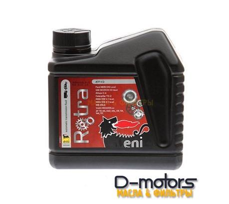 Трансмиссионное масло ENI Rotra ATF II D (1л)
