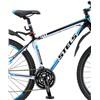 Велосипед Stels Navigator 750 MD Черный/Белый/Синий 27.5 (2015), интернет-магазин Sportcoast.ru