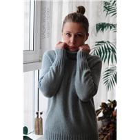 Cвитер Easy basic sweater для размера L описание+пряжа
