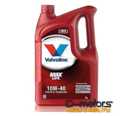 Моторное масло Valvoline Maxlife Diesel 10W-40 (5л.)