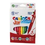 Фломастеры суперсмываемые Carioca Joy 12 цветов 40614