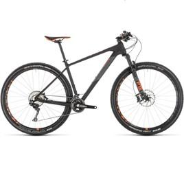Велосипед CUBE REACTION 29 C:62 RACE (carbon'n'orange) 2019, интернет-магазин Sportcoast.ru