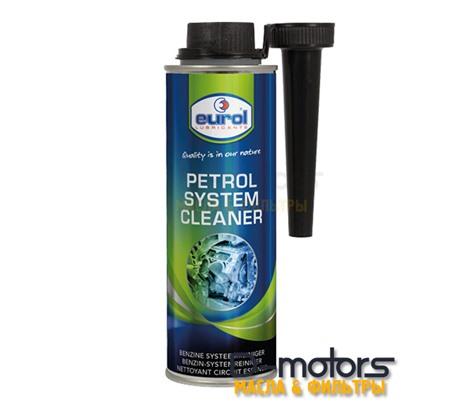 Очиститель топливной системы бензиновых двигателей  EUROL Petrol System Cleaner (250мл.)
