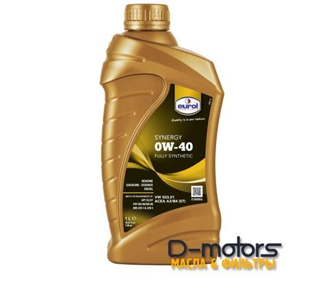 Моторное масло Eurol Synergy 0W-40 (1л.)
