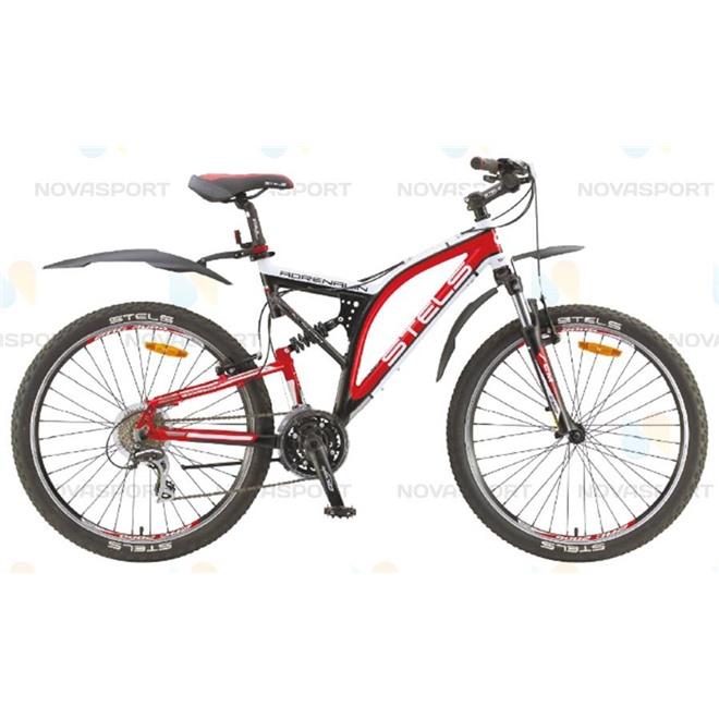 Велосипед Stels Adrenalin V 26 (2015) Черный/Белый/Красный , интернет-магазин Sportcoast.ru